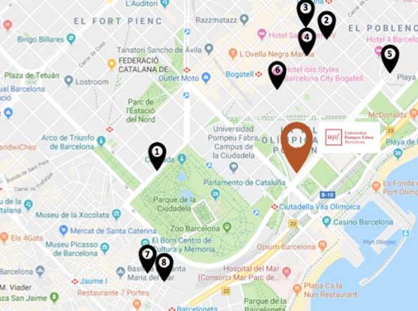 Hoteles zona Ciutadella